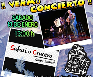 Vermú concierto (sábado, 13)