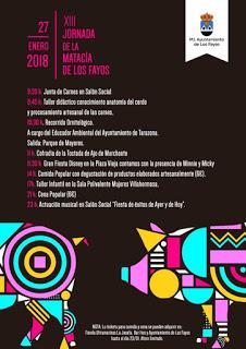 LOS FAYOS. XIII Jornada de la Matacía (sábado, 27)