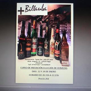 FRAGA. Curso de iniciación a la cata de cervezas (lunes, 22, y miércoles, 24)
