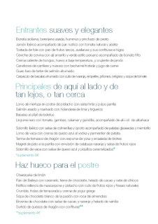 Nuevos menús en CELEBRIS, por 19, 29 y 39 euros (hasta marzo)