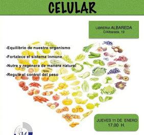 Charla de nutrición celular (jueves, 11)