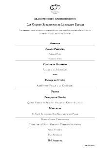 Las cuatro estaciones de Leonardo Padura en ARAGONIA PALAFOX (hasta el 31 de enero)