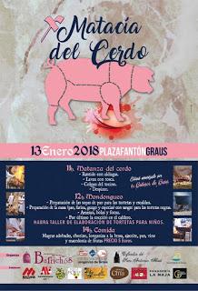GRAUS. Matacía del cerdo (sábado, 13)