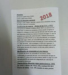 Nuevo menú degustación en LA OLIVADA, Gúdar y Javalambre (del 9 de enero al 3 de febrero)