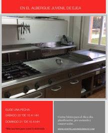 EJEA DE LOS CABALLEROS. Taller de cocina (sábado y domingo, 20 y 21)