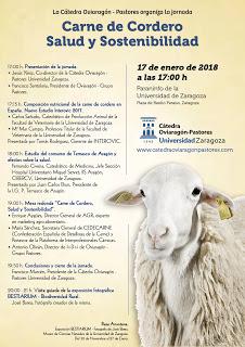 Jornada Carne de Cordero: Salud y Sostenibilidad (Miércoles, 17)