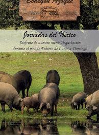 Menú degustación Jornadas del ibérico (febrero)