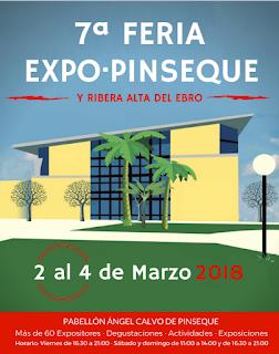 PINSEQUE. Expo-Pinseque (del 2 al 4 de marzo)