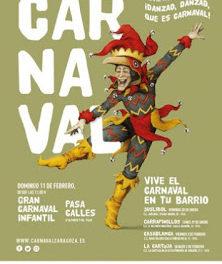 Carnaval en los barrios de Zaragoza (del 5 al 11)