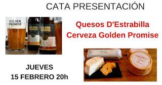 Cata de quesos y cerveza (jueves, 15)