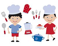 HUESCA. Taller de cocina de carnaval para niños (sábado, 17)