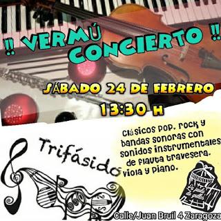 Vermú concierto (sábado, 24)