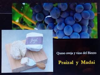 Cata de quesos y vinos del Bierzo (viernes, 9)
