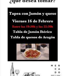 Tapeo en el MERCADO DE RIC (viernes, 16)