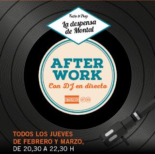 After work con dj en directo (jueves de febrero y marzo)