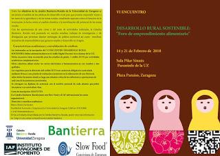 VI Encuentro sobre desarrollo rural sostenible (miércoles, 14 y 21)
