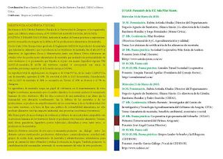 VI Curso de Agroecología, Ecología Política y Desarrollo Rural (miércoles, 21)