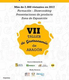 VII Taller de gastronomía de Aragón (lunes, 12, y martes, 13)