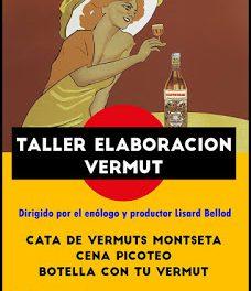Taller de elaboración de vermut con cata y picoteo en CASTROBAR (viernes, 16)