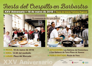 BARBASTRO. Fiesta del crespillo (domingo, 18)