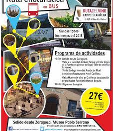 ZARAGOZA / CARIÑENA. Excursión Ruta del Vino Campo de Cariñena (sábado, 24)