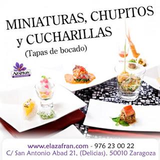Curso de cocina en miniatura en AZAFRÁN (del 3 al 5)