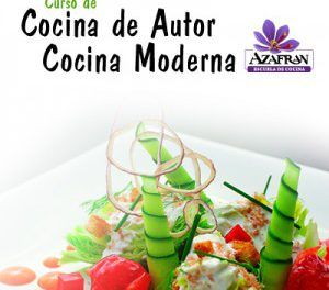 Curso de cocina moderna y de autor en AZAFRÁN (de martes a jueves, del 13 al 15)