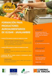 Curso de formación para productores agroalimentarios (del 6 al 28)