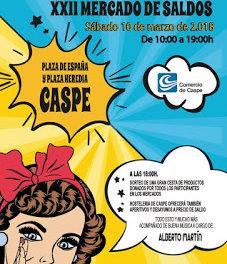 CASPE. XI Mercado de alimentación (sábado, 10)