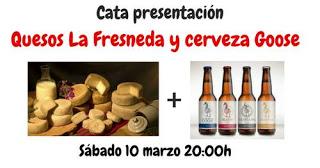 Cata de quesos y cerveza artesana (sábado, 10)