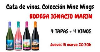 Cata de vinos de la Bodega Ignacio Marín (jueves, 15)