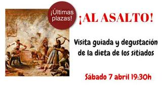 Ruta gastronómica por la Zaragoza de Los Sitios (sábado, 7)