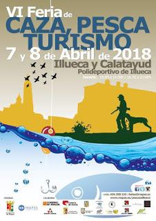 ILLUECA. VI Feria de caza, pesca y turismo (sábado, 7, y domingo, 8)