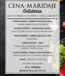 SALAS BAJAS. Jornadas gastronómicas Óscar cocina con los amigos (jueves, 8)