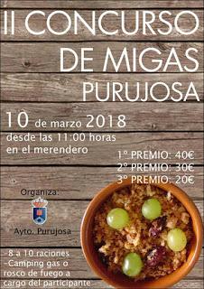 PURUJOSA. II Concurso de Migas sábado, 10)