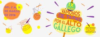 ALTO GÁLLEGO. IX Concurso Vámonos de tapas por el Alto Gállego (Hasta el 11 de marzo)