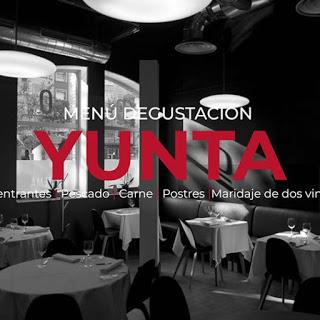 Cenas Menú Degustación Yunta (días 10, 17, 29, 30 y 31)