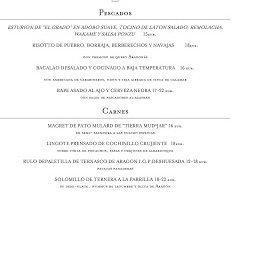 Nuevos menús y carta en ARAGONIA PALAFOX, por 28-32-48 euros (hasta finales de primavera)