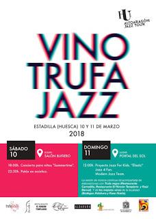 ESTADILLA. Festival Vino Trufa Jazz (días 10 y 11)