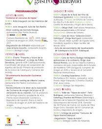CALATAYUD. Festival GastroCalatayud (del 5 al 9 de abril)