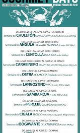Gourmet Days en LOS CABEZUDOS y TRAGANTÚA con cigalas tronco (del 16 al 19)