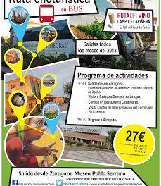 ZARAGOZA / CARIÑENA. Excursión Ruta del Vino Campo de Cariñena (sábado, 28)