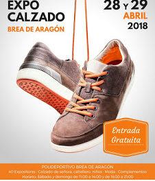 BREA DE ARAGÓN. Degustaciones en la IV feria Expo Calzado (días 28 y 29)