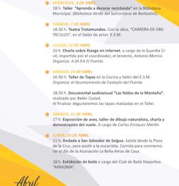 CASTEJÓN DEL PUENTE. Jornadas Culturales (hasta el lunes, 23)
