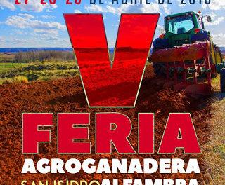 ALFAMBRA. Feria agrícola de San Isidro (del 27 al 29)