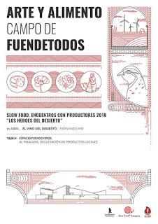 FUENDETODOS. Encuentros con productores Los Héroes del desierto (sábado, 21)