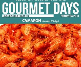 Gourmet Days en LOS CABEZUDOS y TRAGANTÚA con camarón (del 9 al 12)