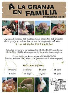 A la granja en familia (sábado, 5)