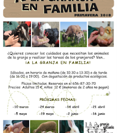 A la granja en familia (sábado, 21)