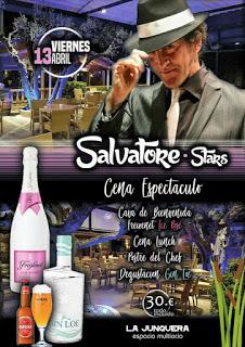 Cena espectáculo en LA JUNQUERA (viernes, 13)
